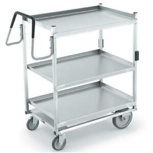 Vollrath 97208 23 In X 35 In 3 tier Stainless Steel Utility Cart
