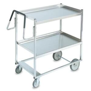 Vollrath 97200 20 In X 35 In 2 tier Stainless Steel Utility Cart