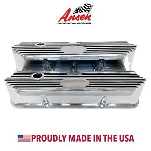 Ford Fe Tall Valve Covers All Finned Polished Customizable Ansen Usa