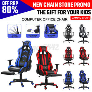 Executive Gaming Computer Swivel Chair Office Chair Recliner Pu Leather
