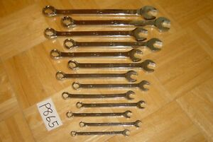 Mac Tools 13 Piece Sae Combination Wrench Set 12 Point 9 32 To 15 16