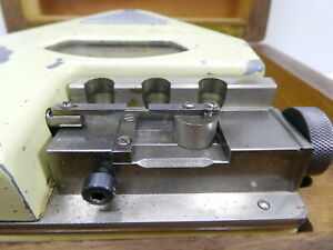 Cary Spec Dial Comparator Bench Micrometer Watchmakers Uhrmacher Mikrometer