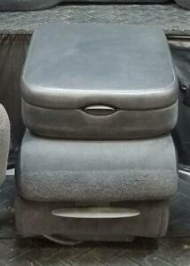2003 Dodge Ram 1500 Center Stationary Center Console Assembly Gray Trim Dv