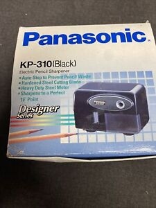 Panasonic Auto Stop Electric Pencil Sharpener Model No Kp 310 Works Great