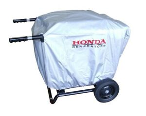 Generator Cover With Installed 2 Wheel Kit With Handles only Eu3000is Elastic