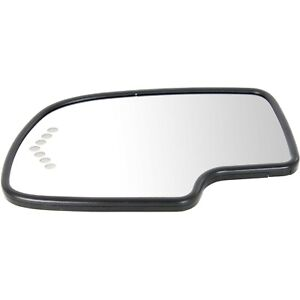 New Mirror Glasses Driver Left Side Heated For Chevy Avalanche Suburban Lh Hand