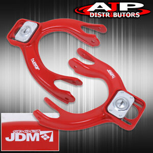 Red Front Adjustable Control Camber A arm Kit For 92 95 Civic 93 97 Del Sol