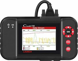 Launch Creader Viii Crp129 Obd2 Scanner Scan Tool Eng At Abs Srs Epb Sas Oil