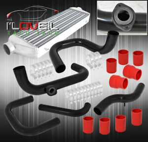 For 94 01 Integra Ls Rs Gs Gsr Intercooler Bolt On Piping Kit Sqv Adapter Flange