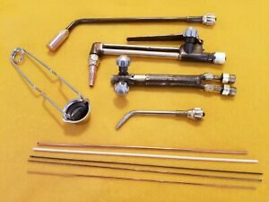 Uniweld Victor Torch Set Welding Cutting Brazing Heating Oxy acetylene