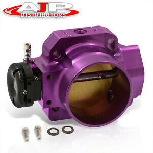 70mm B series B18 B20 Purple Big Throttle Body Performance Upgrade Anodized Purp