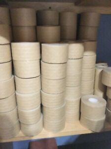 Brown Kraft Paper Gummed Tape 60mm X 150 Reinforced Water Activated 1 Roll