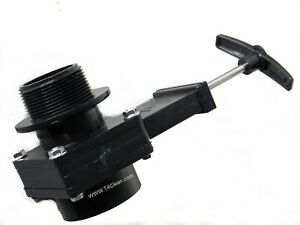 Carpet Cleaning Extractor Gate Valve
