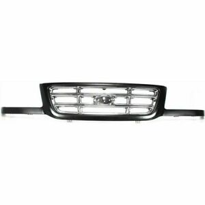 Front Grille Chrome Bar Type Fits 2001 2002 2003 Ford Ranger