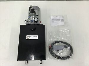 Concentric 1261096 12 Volt Dc Power Unit Solenoid Operation Single Acting