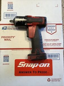 Snap On Ct761a 14 4v 3 8 Microlithium Cordless Impact With Battery No Charger