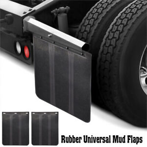 Heavy Duty Rubber Mud Flaps Splash Guards Car Truck Pickup Universal Body Fender