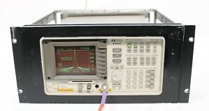 Hp Agilent 8591e 9 Khz 1 8 Ghz Spectrum Analyzer
