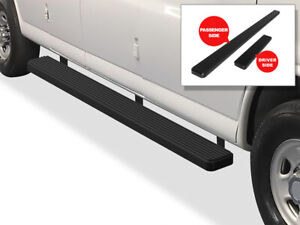 Iboard Running Boards 5 Inches Matte Black Fit 03 21 Chevy Express Gmc Savana