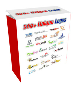 500 Unique Logos Psd Master Resale Rights And Turnkey Website