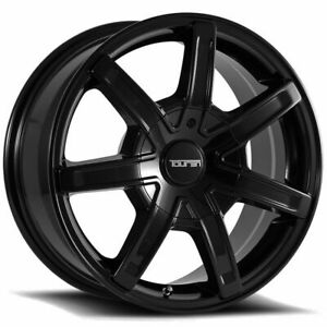 17x7 5 Touren 3265 Tr65 5x114 3 5x5 40 Black Wheels Rims Set 4