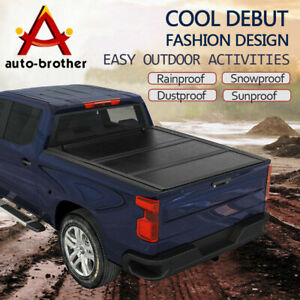 Bed Hard Tri Fold Tonneau Cover 5 7ft For Dodge Ram 1500 2009 2018 Waterproof