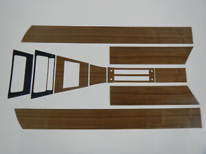 1965 Buick Riviera Walnut Wood Interior Trim Kit Door Panels Console 65 Riv Gs