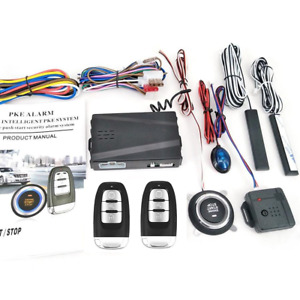 Car Alarm Security Systems Auto Remote Central Locking Kit Door Lock Keyless