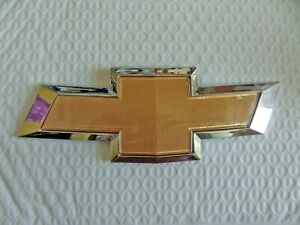 New For Chevrolet Cruze 2011 2014 Front Gold Bowtie Emblem Free Ship