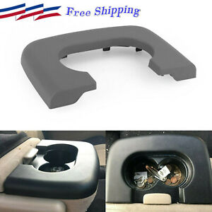 Center Console Cup Holder Replacement Pad Light Gray Fits Ford F150 1997 2003