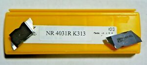 5 Brand New Kennametal Nr 4031r K313 Grooving Carbide Inserts 728so