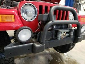 1998 2006 Jeep Wrangler Tj Front Bumper Assembly With Winch