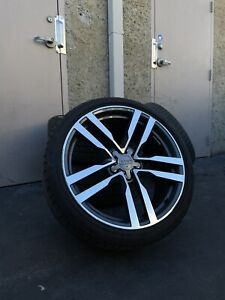 Oem Audi Tt Wheels W Tires 8s0601025f