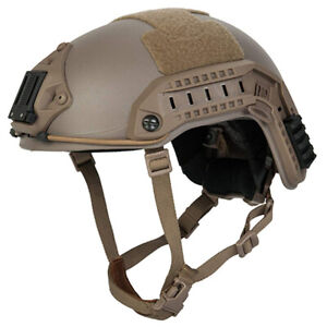LANCER TACTICAL ABS Maritime Medium Large Dark Earth Airsoft Helmet CA 805T $58.00