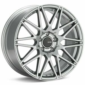 17x8 Enkei Tms 5x114 3 35 Hyper Grey Wheels Rims Set 4