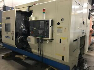 2003 Okuma Macturn 250w Cnc Lathe 9 Axis Great Condition Video