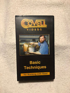 Covell Videos Basic Techniques For Working With Steel Vhs