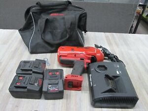 Snap On Ct9075 1 2 Monster Lithium ion Impact Wrench w3 Batteries And Charger