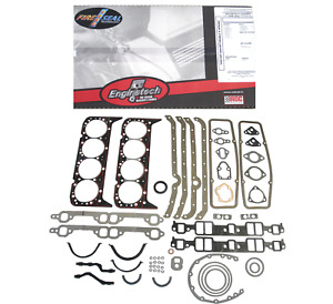 Engine Gasket Set For Early 2 Piece Rear Seal Chevrolet Sbc 283 327 350 57
