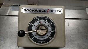 Rockwell Delta 15 655 Drill Press Front Head Casting With Speed Control