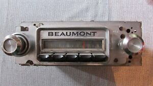 Oem Beaumont Radio Gm Delco Super Rare With Name Plate Muscle Car 1966 1969