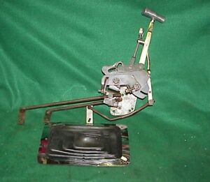 Vintage Mr Gasket Vertigate Shifter 4 Four Speed Borg Warner Muncie Chevy