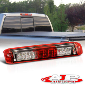 Red Led 3rd Brake Stop Light Lamp Roof Cargo For 1999 2006 Silverado Gmc Sierra