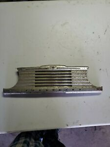 1947 1948 Chevy Fleetmaster Center Dash Trim Radio Speaker Grille Cover 2 Door