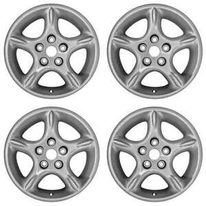 Jeep Grand Cherokee Wrangler 1998 2000 2001 16 Oem Wheels Rims Full Set