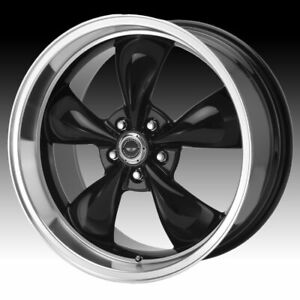 American Racing Ar105m Torq Thrust M Black 18x9 5x4 5 34mm Ar105m8966b