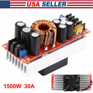 Dc dc Boost Converter Step up Power Supply Module In 10 60v Out 12 90v 1500w