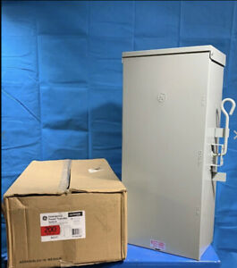 Ge 200 Amp Manual Emergency Power Transfer Switch 240v Double Throw tc10324r 2p