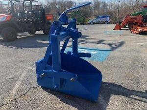 Ford 706 Slip Scoop Bucket 3pt Implement For Sub Compact Tractors