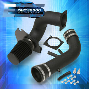 For 96 04 Ford Mustang 4 6l V8 Black Pipe Cold Air Intake Cai Piping System New